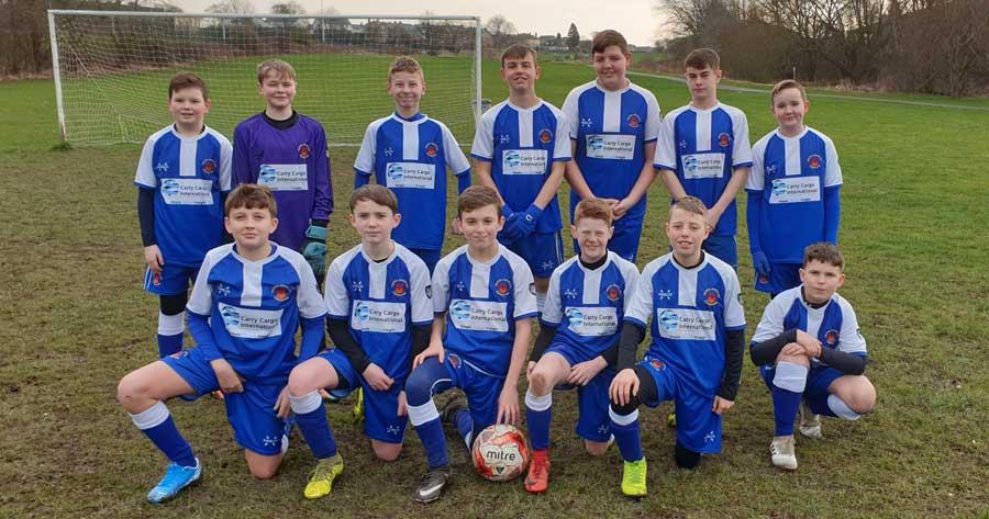 Crofton juniors u13 white squad
